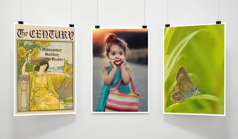 Печать постеров, плакатов, картин и репродукций